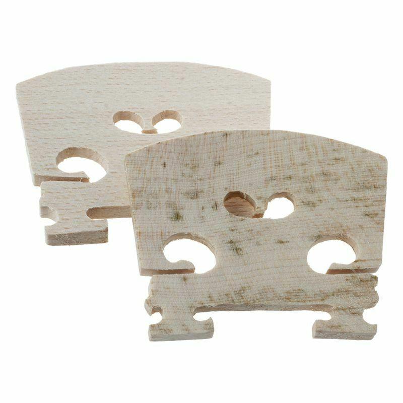 2XMaple Violin Bridge 4/4 W5X8 1Z
