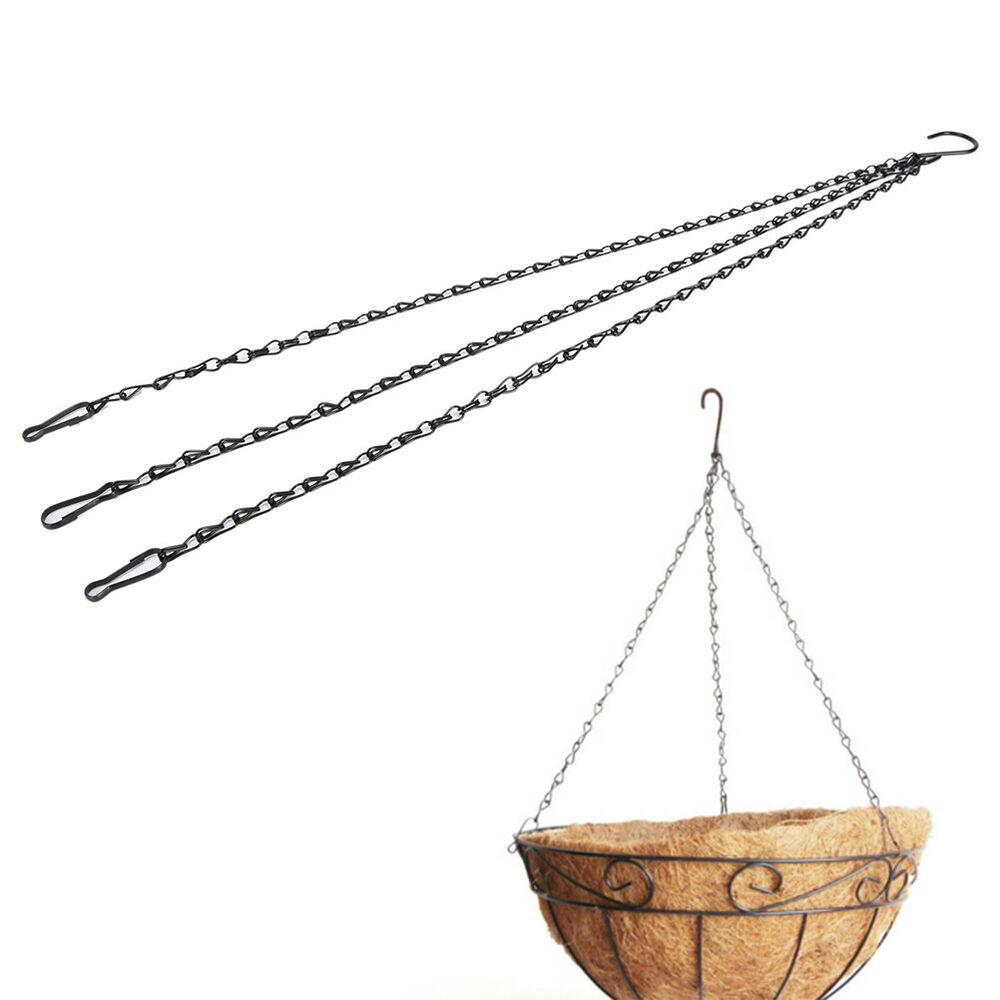 55cm Weight-bearing Iron Plant/Flower Basket Holder Hanging