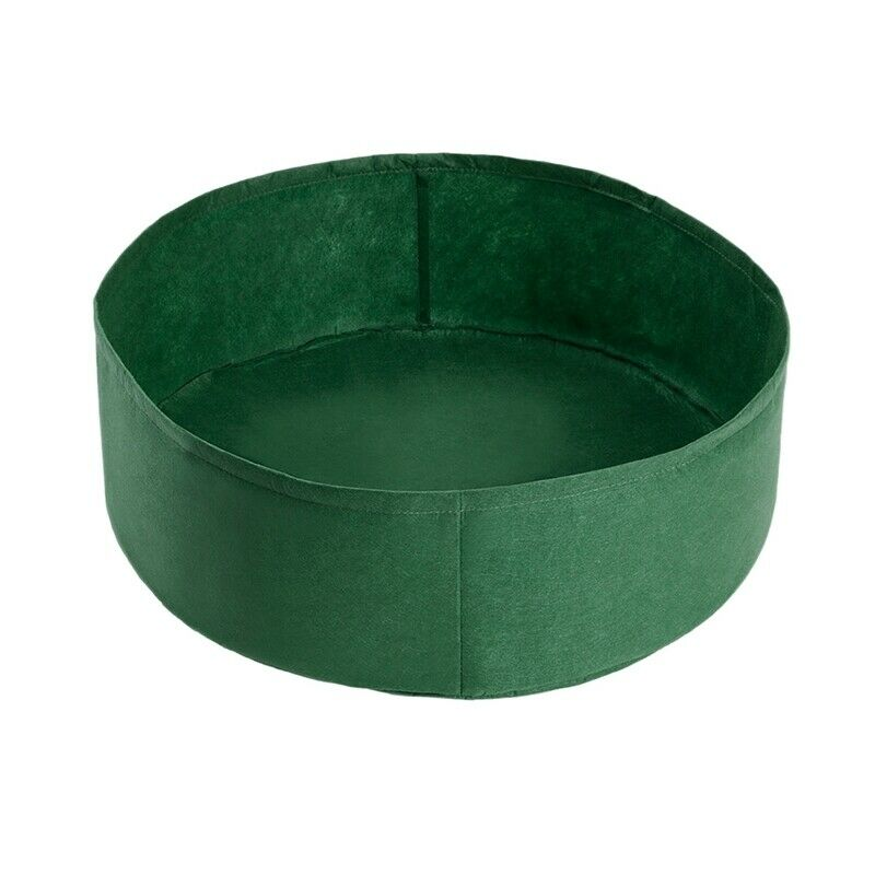 9X(Planting Bag Garden Bed Round Planting Container Grow