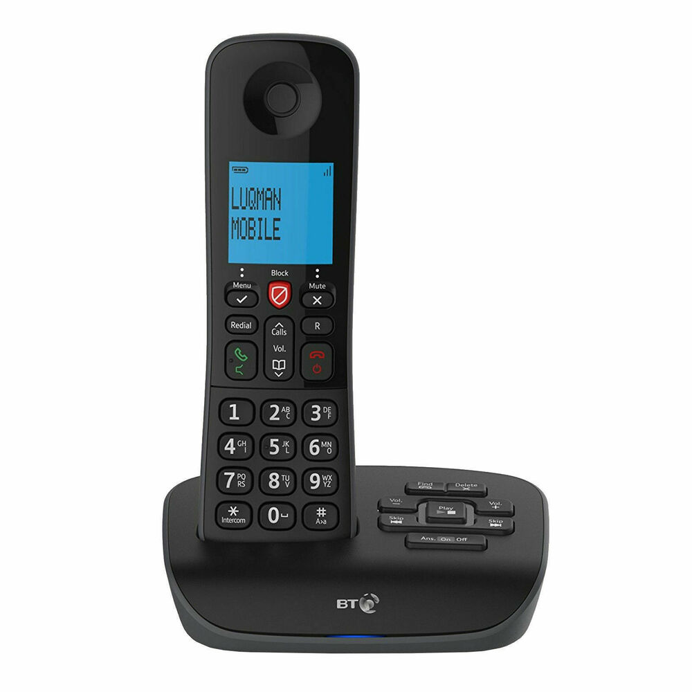 BT Essential Phone Single Cordless Phone Nuisance Call