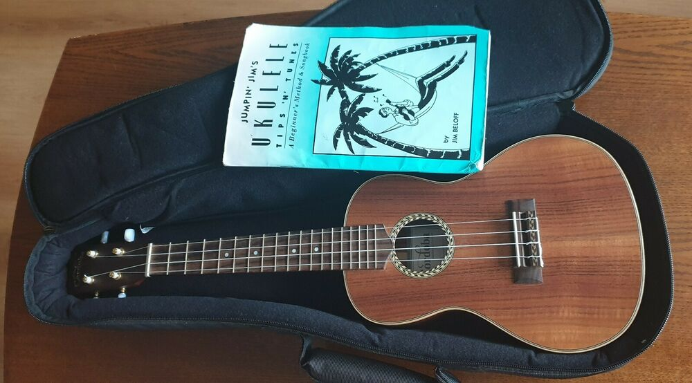 Cordoba 25CK All Solid Acacia Concert Ukulele with Bag