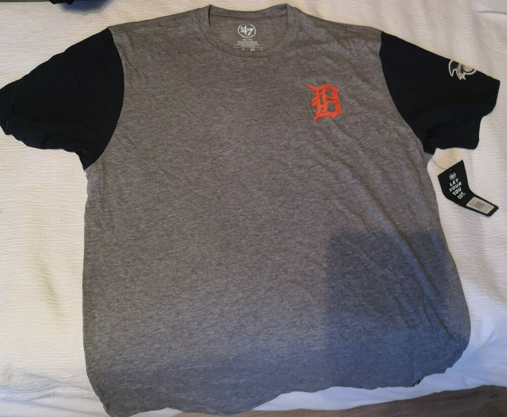 MLB Detroit Tigers 47 Double Rundown T Shirt Mens