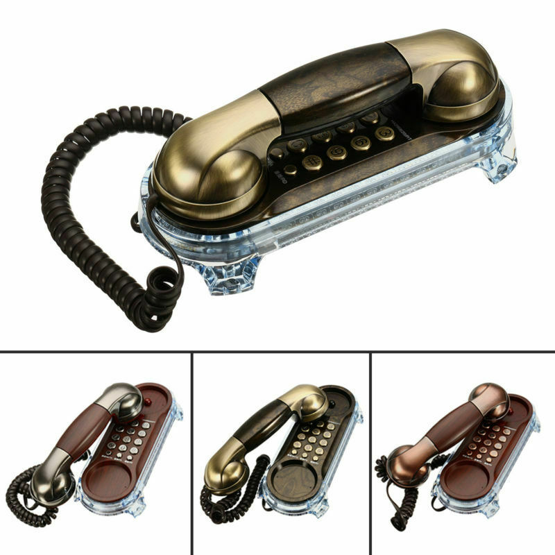 Sale Retro Antique Style Wall Mount Phone Wired Cored