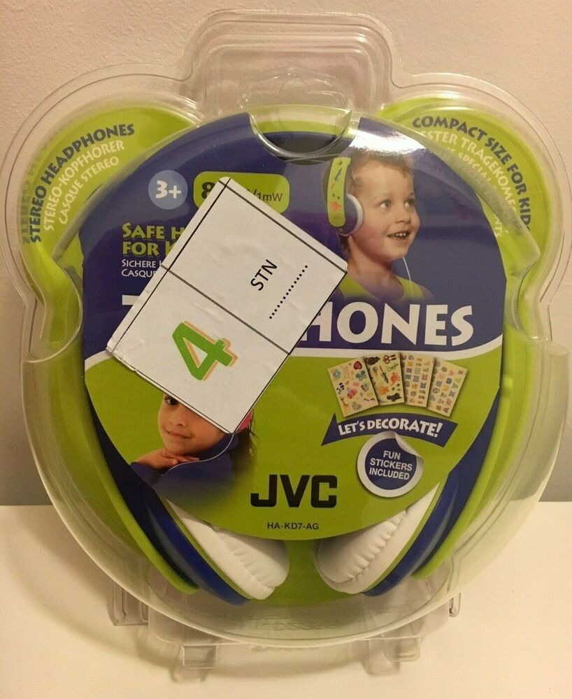 JVC Compact Kids Stereo Headphones with Built In Volume