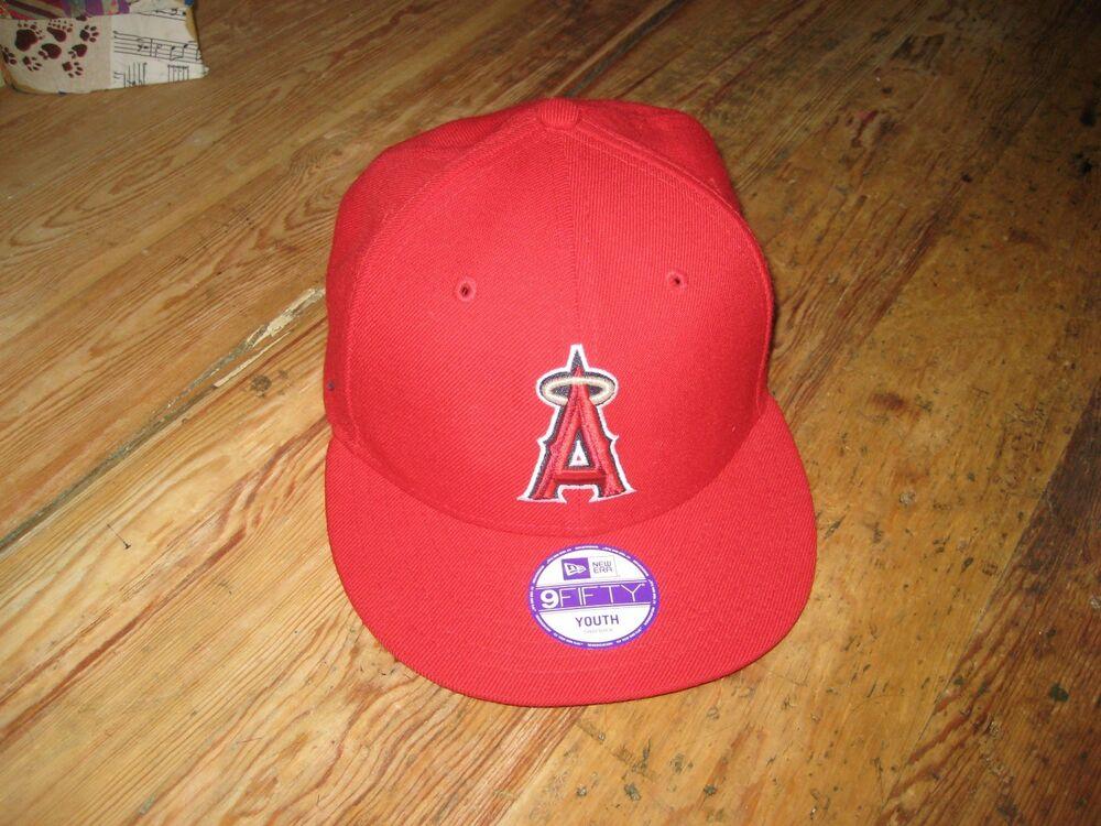 Los Angeles Angels New Era 9FIFTY Youth Adjustable Baseball