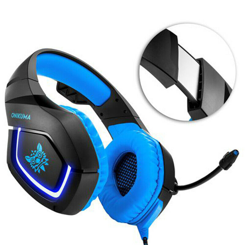 Onikuma Pc Gaming Headset For Ps4 Xbox One 3.5mm Stereo Usb