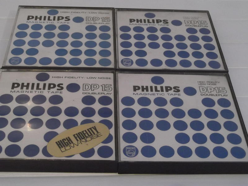 Philips DP15 reel-to-reel tapes - double play ft - 15