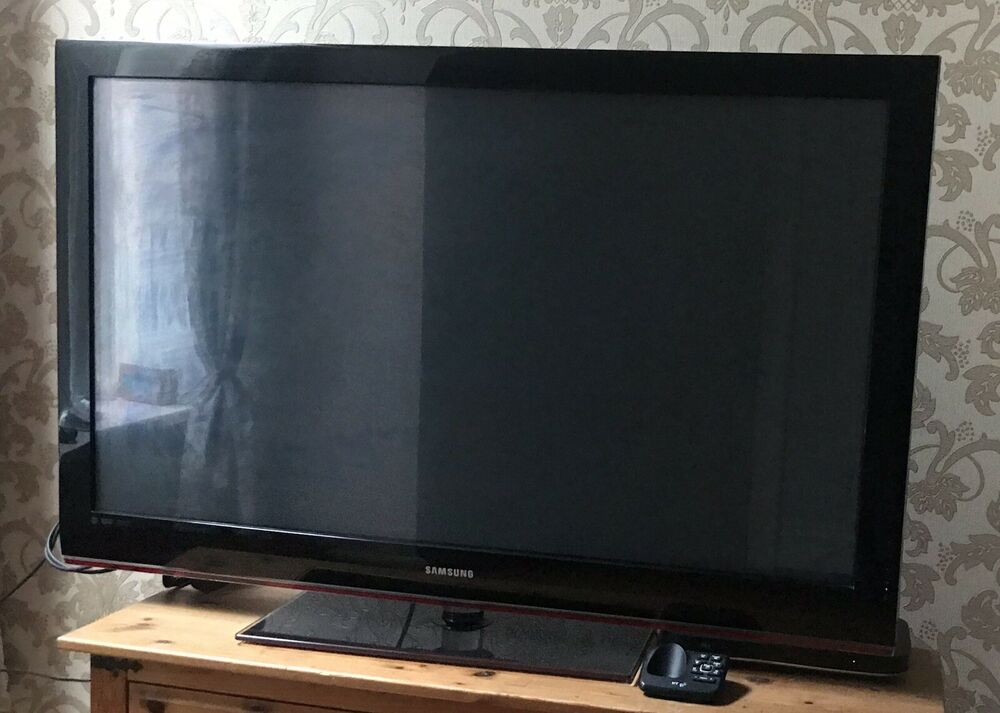 Samsung Black 50 Inch Plasma TV