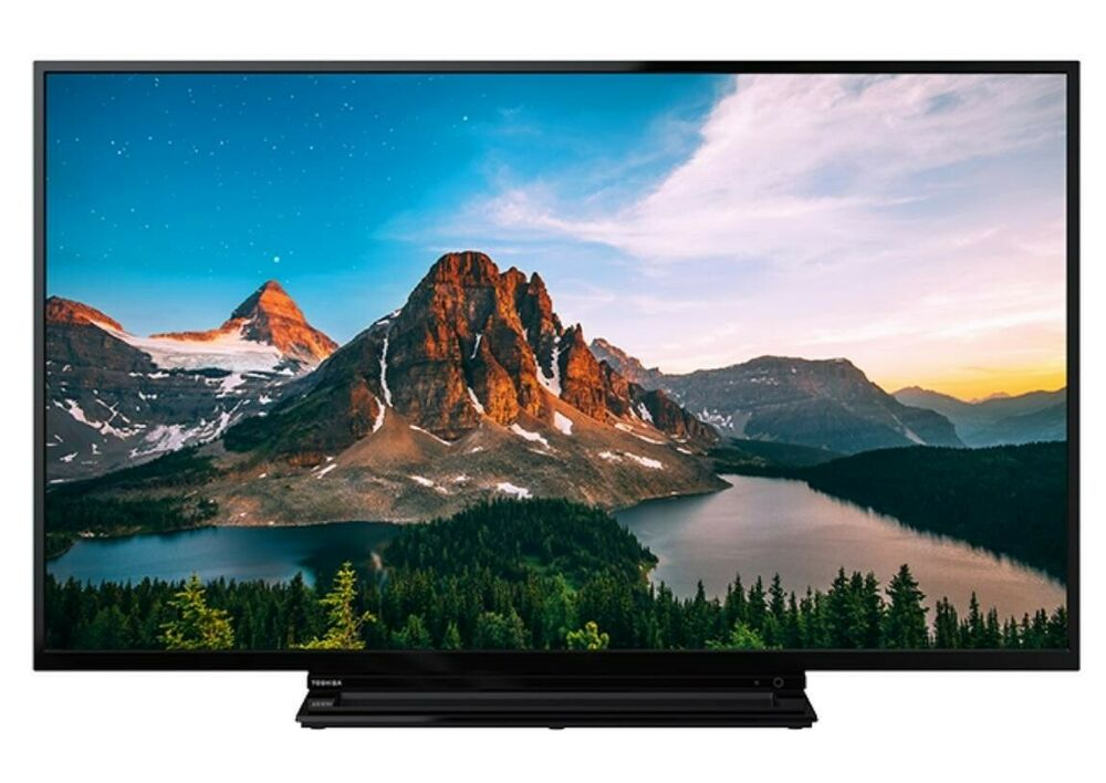 "Toshiba 49VDBT 49"" SMART 4K UHD HDR LED TV Freeview Play"