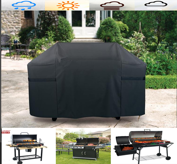 BBQ Cover Outdoor Waterproof Barbecue Covers Garden Patio