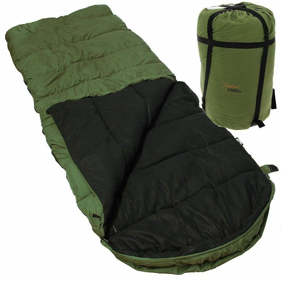 NEW 5 SEASONS WARM NGT DYNAMIC SLEEPING BAG WITH HOOD CARP