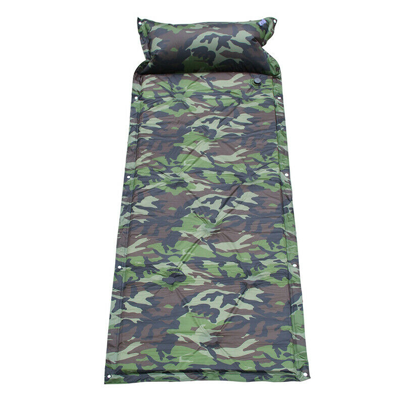 Self Inflating Camping Roll Mat/Pad Sleeping Bed Inflatable