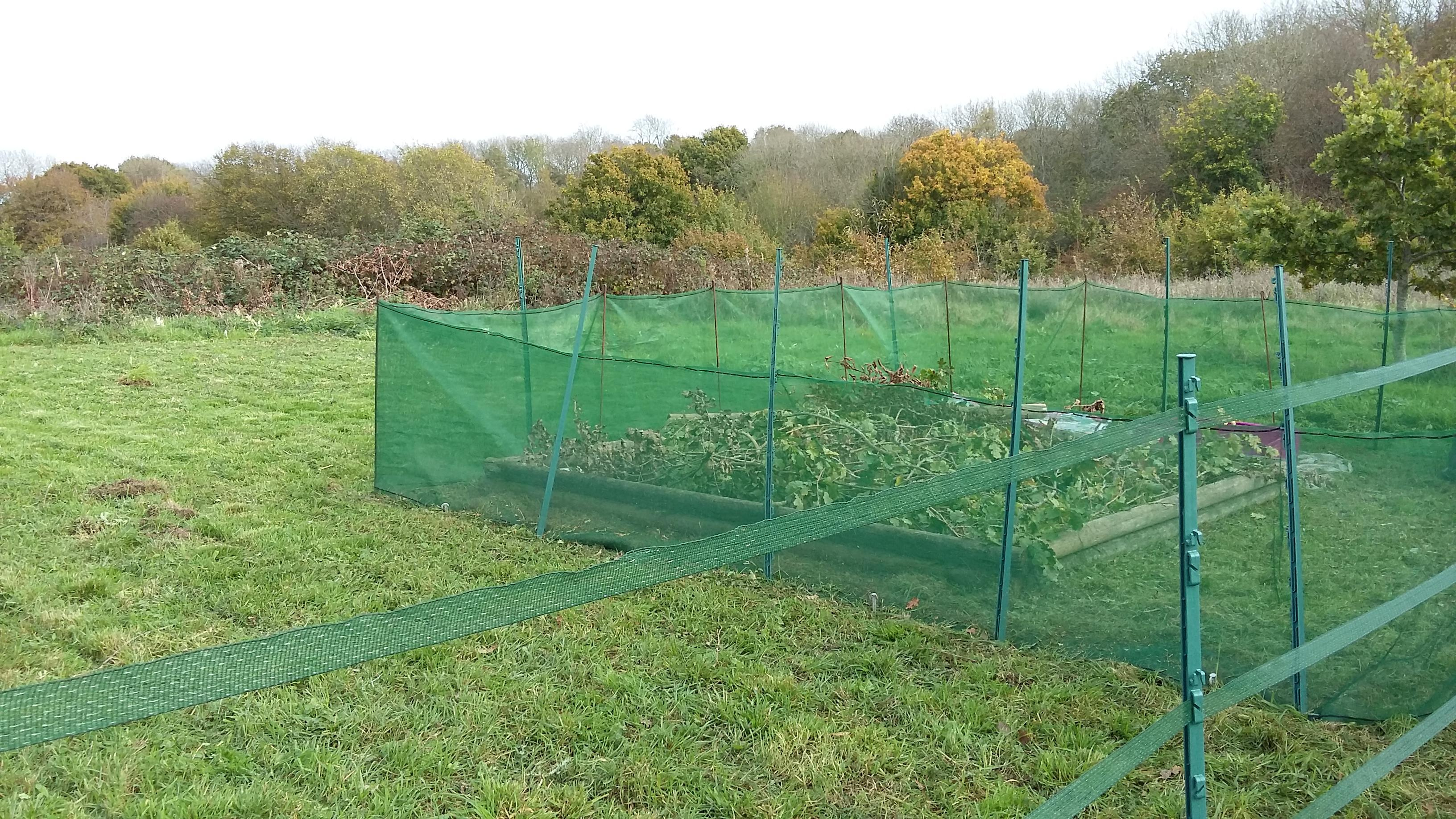 Electric Fencing Posts and Wire Bundle