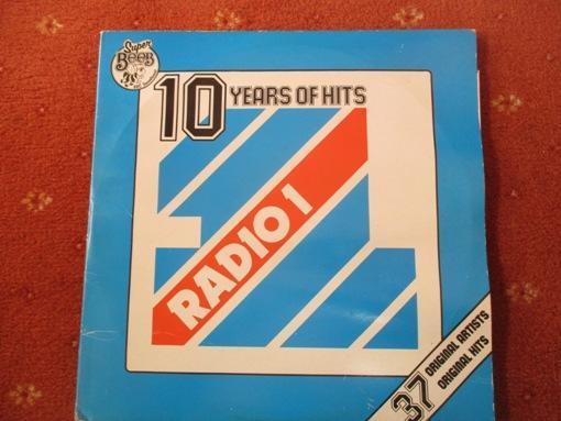Vintage LP Ten Years Of Hits - Radio 1 ono