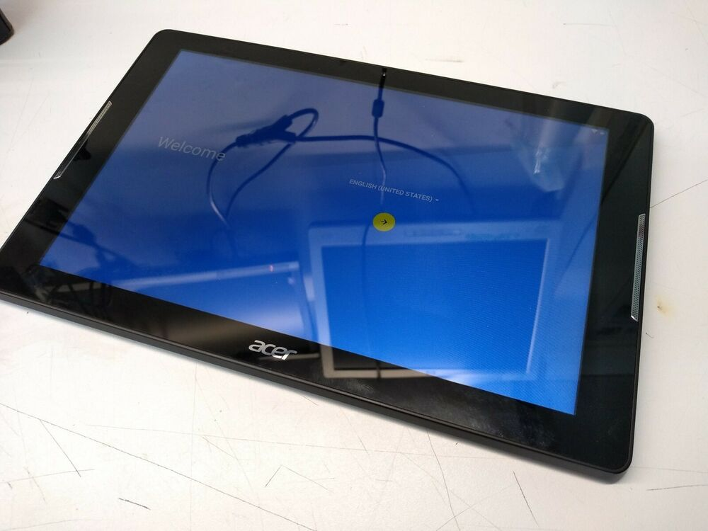 Acer Iconia One 10 inch Android tablet.