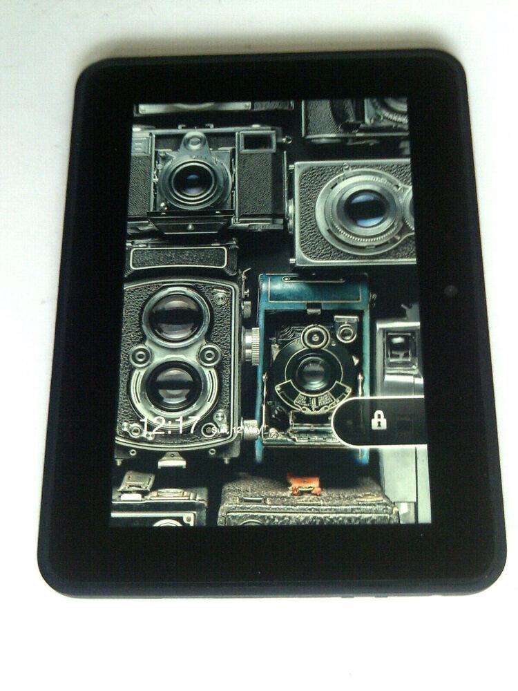 "Amazon Kindle Fire HD 7"" Tablet 16GB Wi-Fi Black [2nd"