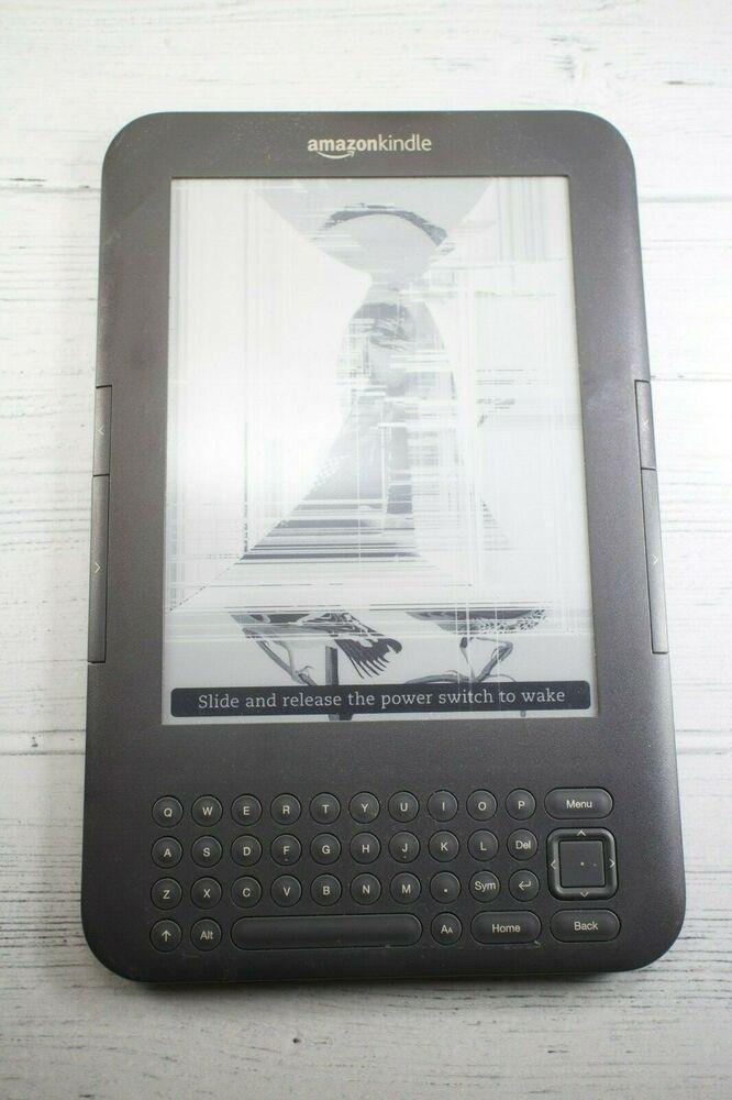 Amazon Kindle Keyboard 3rd Generation Wi-Fi Screen frozen