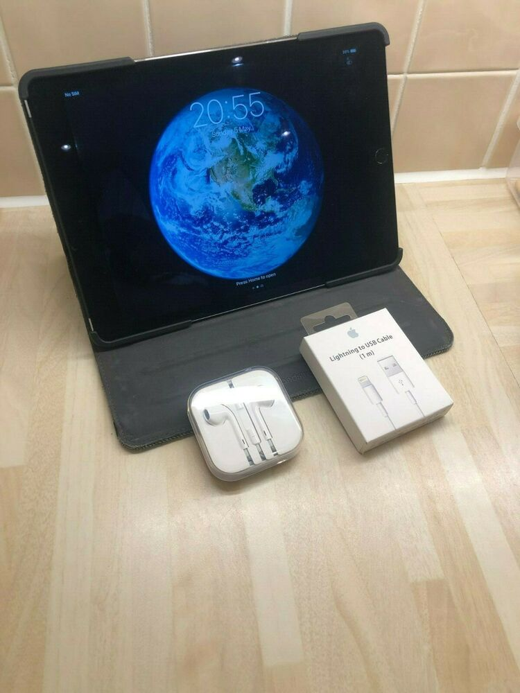Apple iPad Air 2 16GB, Wi-Fi + Cellular (Unlocked) 9.7in -
