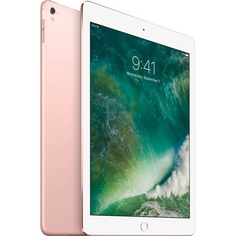 "Apple iPad Pro 2nd Gen 64GB, Wi-Fi, 10.5"" Rose Gold"