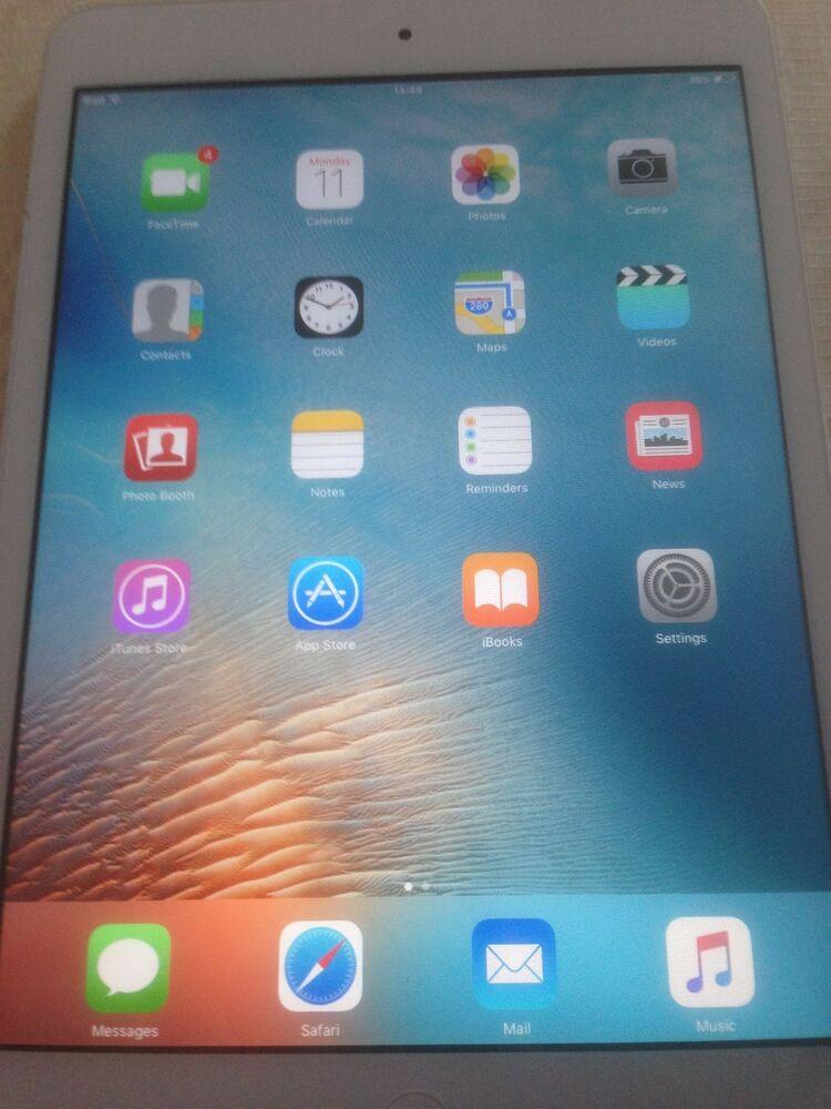 Apple iPad mini 1st Generation 16GB, Wi-Fi - Working but