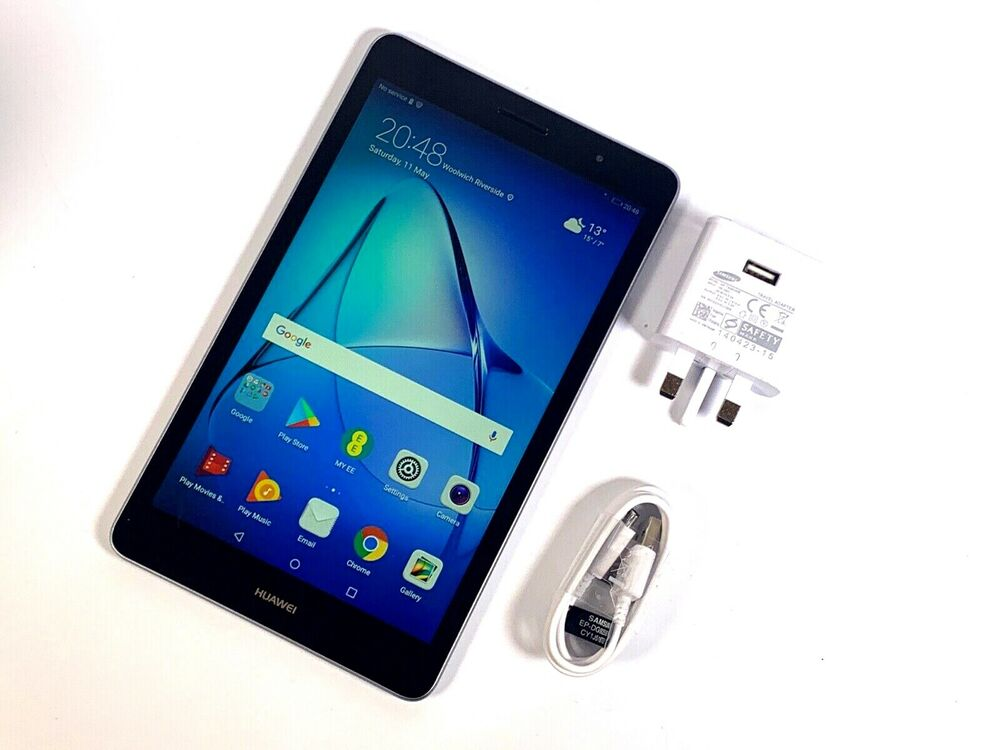 "Huawei MediaPad T3 8"" Tablet 16GB Wi-Fi & 4G/LTE - SIM"