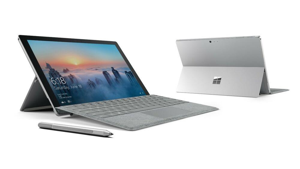 Microsoft Surface Pro GB, Wi-Fi, 12.3 inch - Silver.