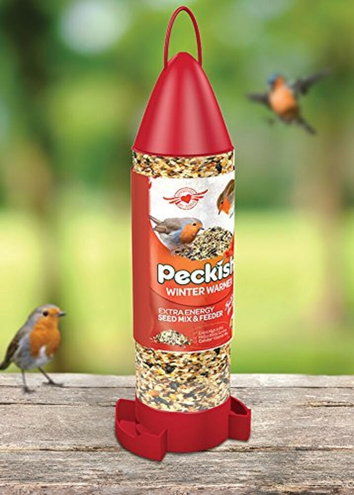 Peckish Winter Walmer Ready to Use Bird Seed Feeder, 400 g