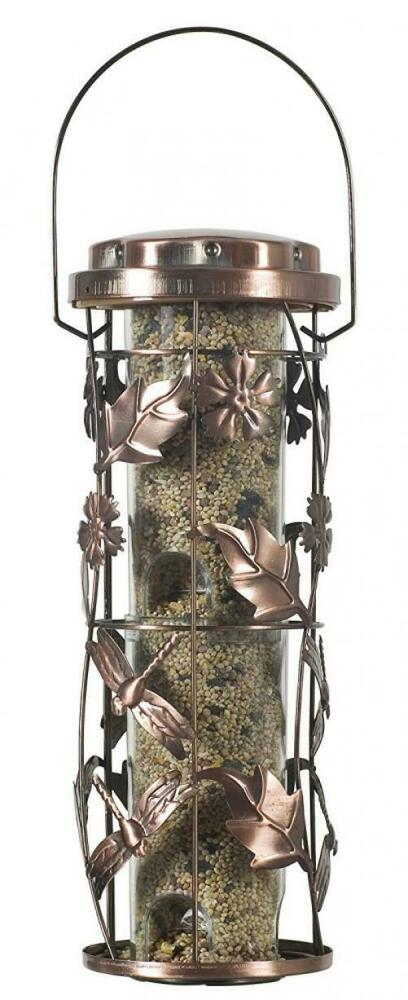 Perky-Pet Copper Meadow Wild Bird Feeder - Small Hanging for