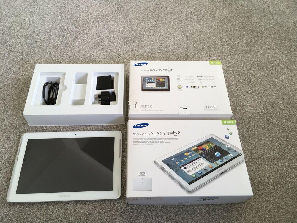 Samsung Galaxy Tab 2 GT-PGB, Wi-Fi, 10.1in - White