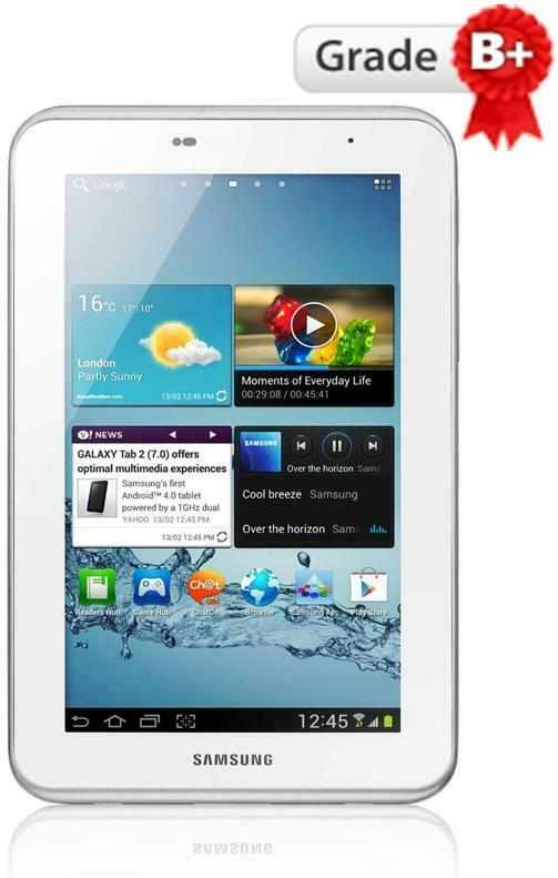 Samsung Galaxy Tab 2 Tablet 7 White 8GB WIFI Android OS
