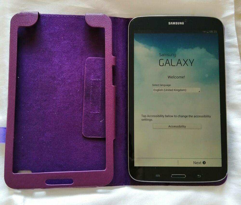 Samsung Galaxy Tab 3 SM-TGB, Wi-Fi, 8in, Black,