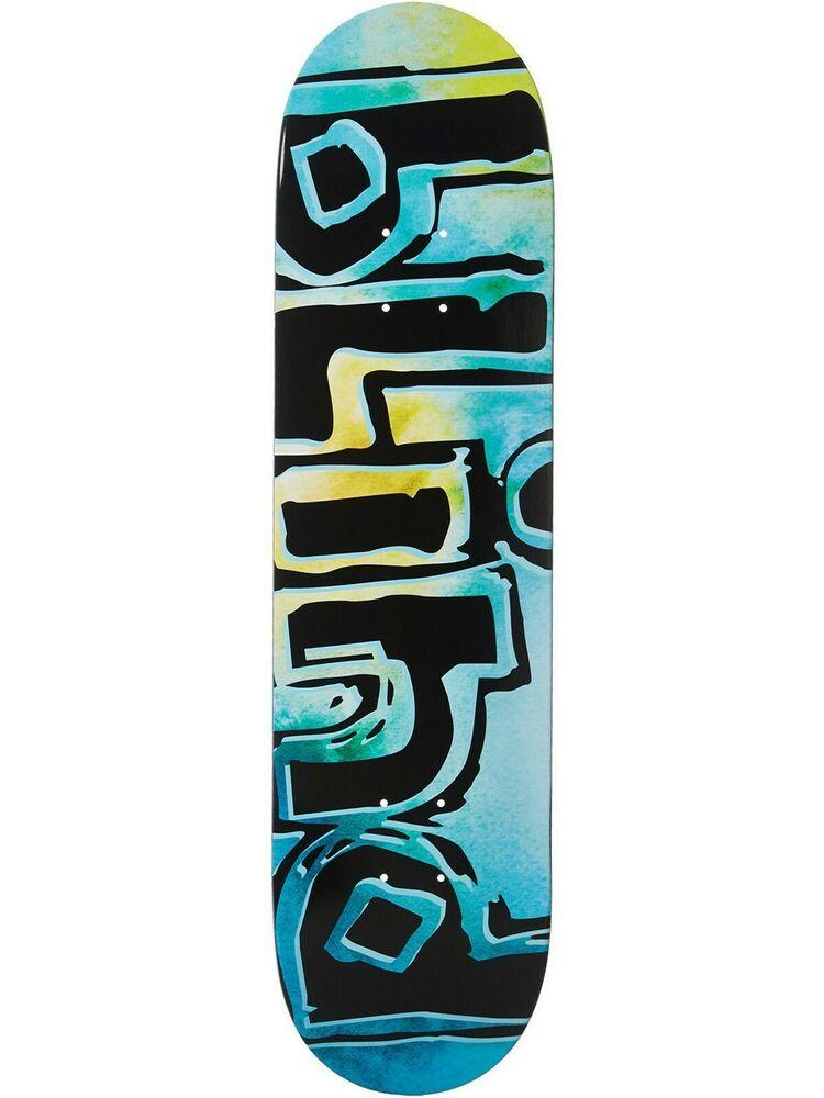 Blind Teal OG Water Colour - 8 Inch Skateboard Deck