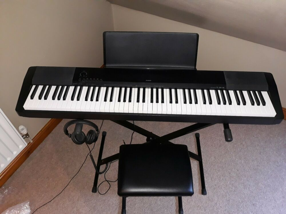 Casio CDP-120 Digital Piano Portable Stage 88 Weighted Keys