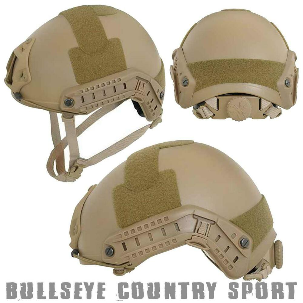 Emerson Airsoft Adjustable MH Fast Helmet Coyote EMA
