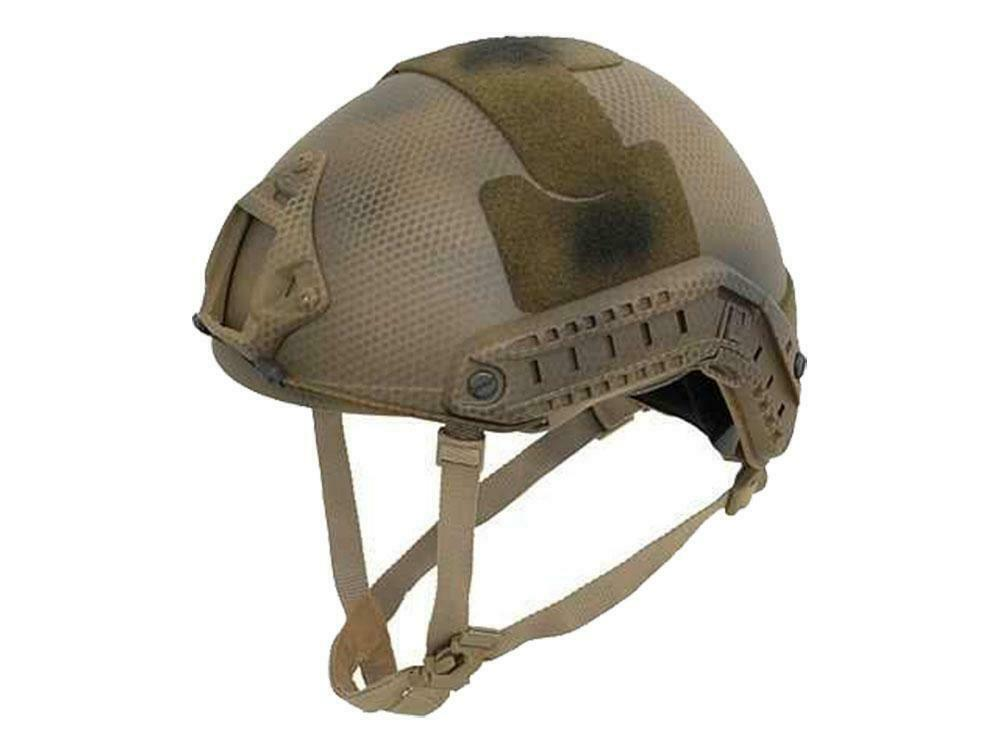 Emerson Airsoft Adjustable MH Helmet Subdued Earth C