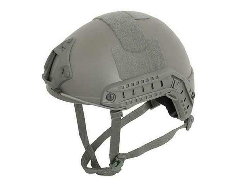 Emerson Airsoft MH Adjustable Fast Helmet Foliage Green Ris