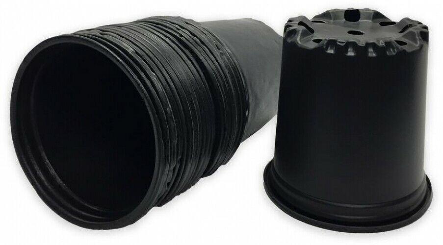 Hydroponics Organic 2 Gal. Plastic Nursery Pots (7.57 l)