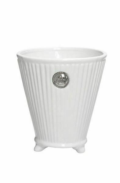 Lene Bjerre Coleitte Flower Plant Pot in White