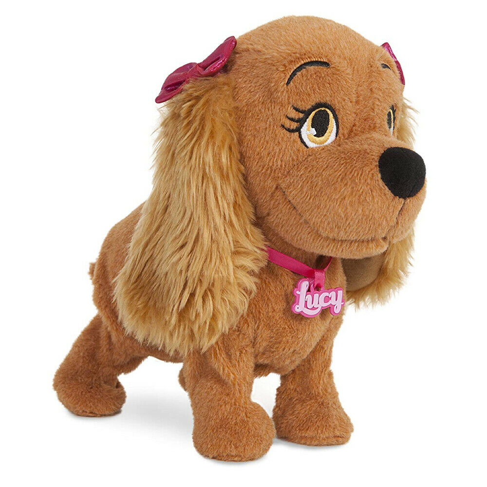 New Club Petz Lucy Sing & Dance Soft Toy