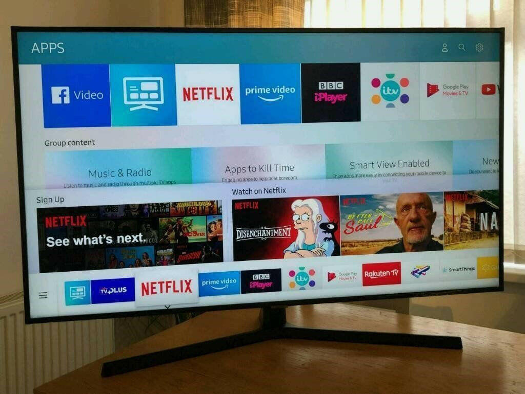 "Samsung 55"" LED Smart TV"