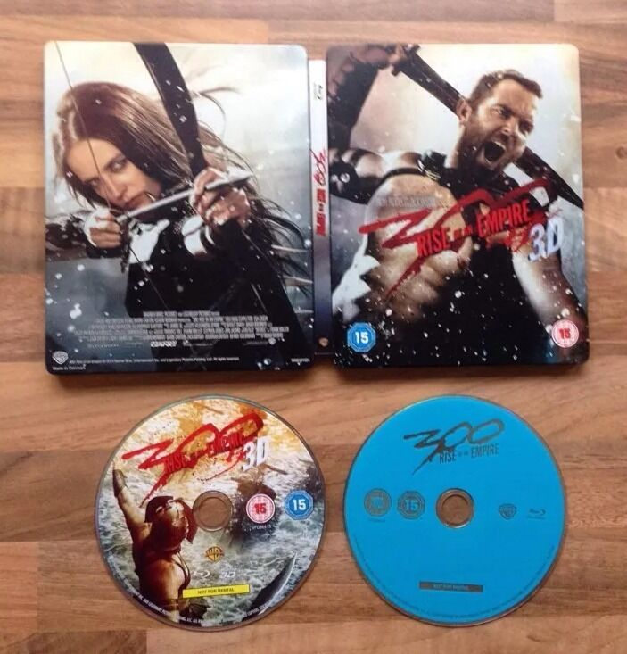 300 RISE OF AN EMPIRE 3D & 2D LIMITED EDITION EXCLUSIVE