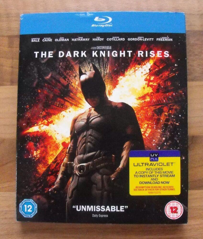 BATMAN - THE DARK KNIGHT RISES 2 DISC BLU-RAY EDITION Inc