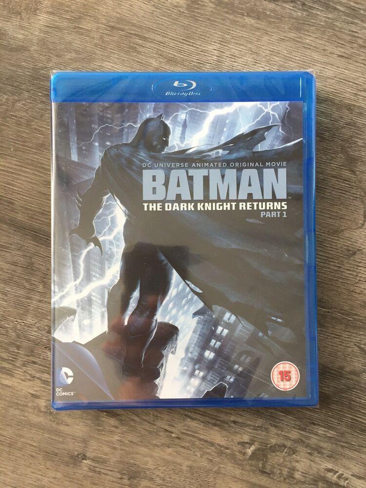 BATMAN The Dark Knight Returns - Part 1 (Blu-ray, ) DC