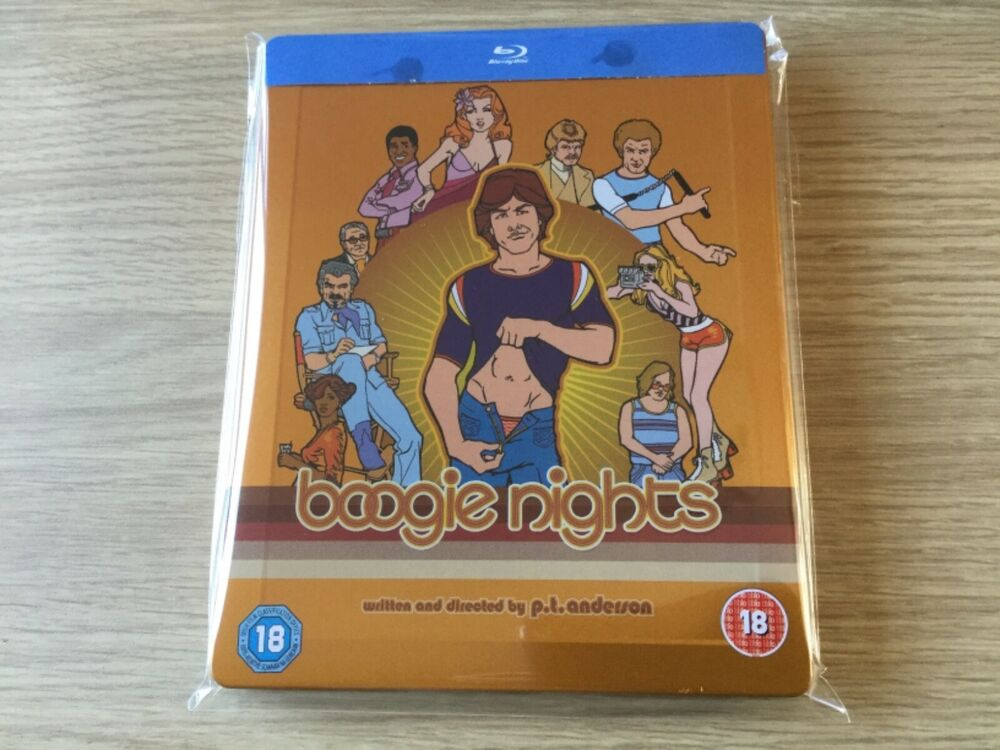BOOGIE NIGHTS - Mark Wahlberg ZAVVI EXCLUSIVE LIMITED BLU