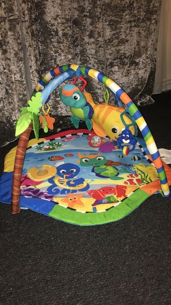 Baby Einstein Rhythm of the Reef Play Gym Baby Playmat