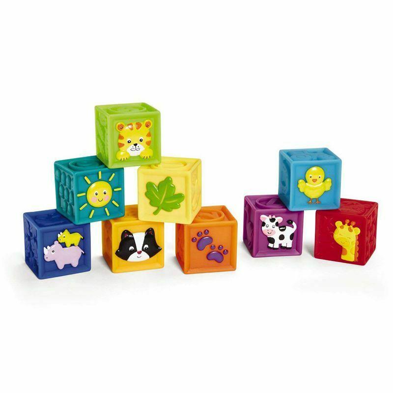 ELP Gift bag, handbag, children's soft rubber blocks, baby