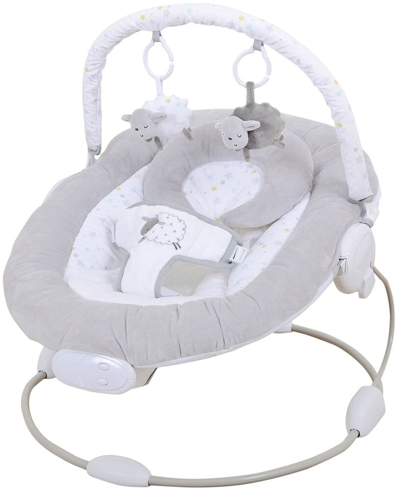 East Coast SILVERCLOUD COUNTING SHEEP BABY BOUNCER Baby