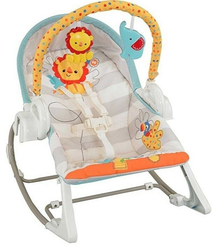 Fisher-Price 3-in-1 Swing-N-Rocker, Baby And Toddler Swing
