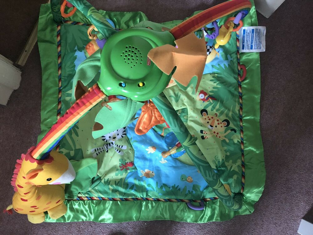 Fisher- Price Jungle Gym And Play Mat
