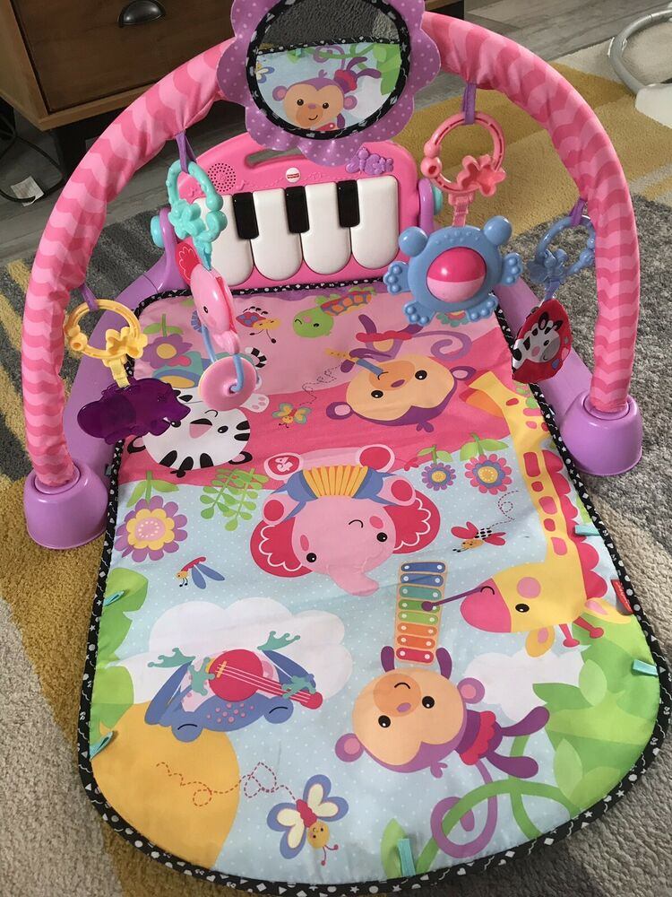 Fisher Price Musical Gym Baby Play Mat Pink Posot Class